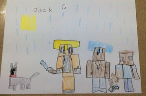 Stampy's Lovely World によって Jack aged 6