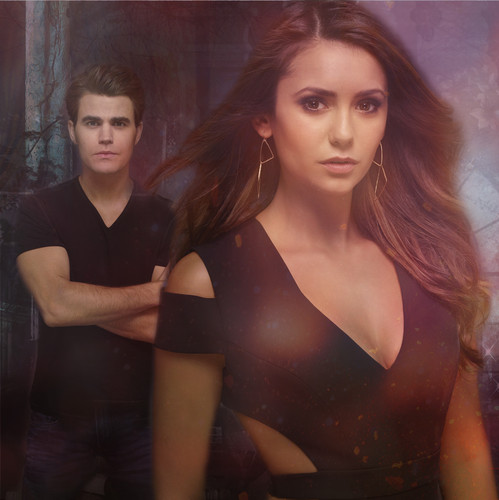 Stefan & Elena wallpaper titled Stefan and Elena season 6