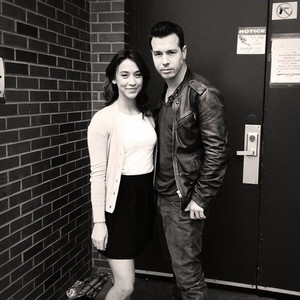 Stella Maeve and Jon Seda