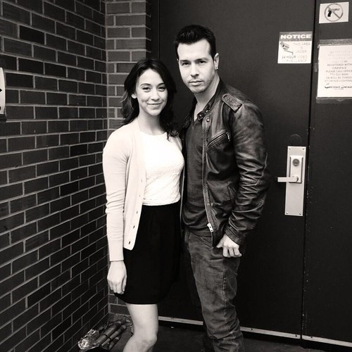 Chicago PD (TV Series) Обои probably with a sign called Stella Maeve and Jon Seda