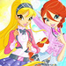 Stella and Bloom - the-winx-club icon