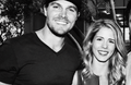 Stephen Amell was in contention for a People's Choice Award for Favorite On-Screen Chemistry  - stephen-amell-and-emily-bett-rickards fan art