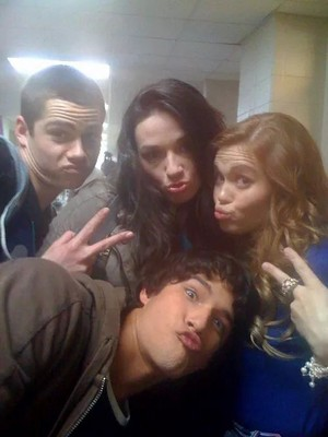 Stiles, Alison, Lydia and Scott