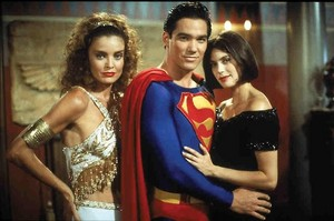 Superman,Lois and Cat