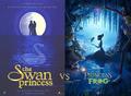 Swan Princsss vs Princess and the Frog early poster - swan-princess photo