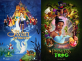 Swan Princsss vs Princess and the Frog poster - swan-princess photo