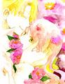 Sweet kiss... - hakushaku-to-yousei fan art
