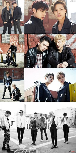 TEEN 最佳, 返回页首 release comeback 照片 shot in New York for their upcoming mini album 'ÉXITO'