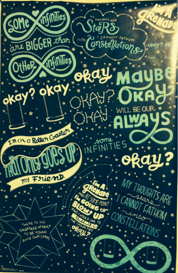 the fault in our stars wallpaper