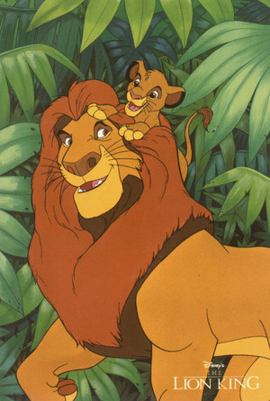 TLK Mufasa and Simba