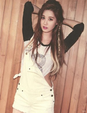 TTS 'Holler' Album Photobook Scans (Seohyun)
