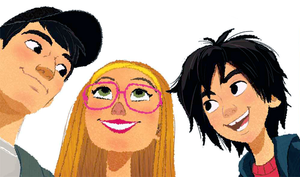 Tadashi, Hiro and Honey