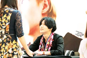 Taemin Фан Sign Event