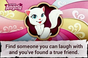 Talking Angela.