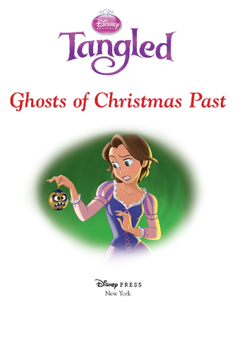 Tangled achtergrond possibly containing a venn diagram and anime entitled Tangled - Ghosts of Christmas Past