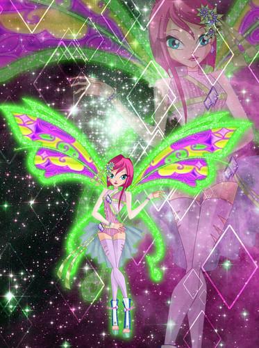 Winx Club Hintergrund called Tecna: Mega Believix