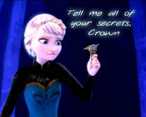 Tell me all of your secrets crown