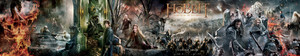 The Hobbit: The Battle Of The Five Armies - High Res Banner