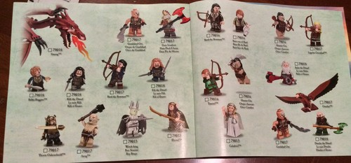 द हॉबिट वॉलपेपर titled The Hobbit: The Battle of the Five Armies LEGO set