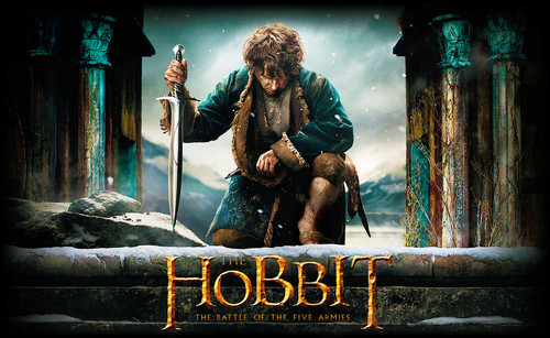 The Hobbit wolpeyper containing a konsiyerto called The Hobbit: The Battle of the Five Armies - wolpeyper