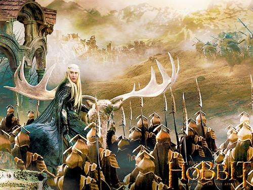 호빗 바탕화면 probably with a 분수 titled The Hobbit: The Battle of the Five Armies 바탕화면