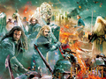 The Hobbit: The Battle of the Five Armies kertas-kertas dinding