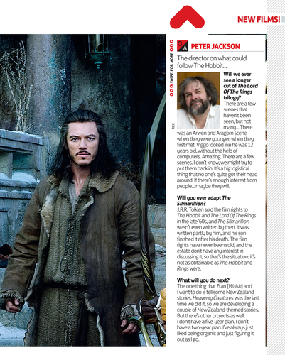 द हॉबिट वॉलपेपर probably with a newspaper and a sign called The Hobbit: The Battle of the Five Armies in Magazine