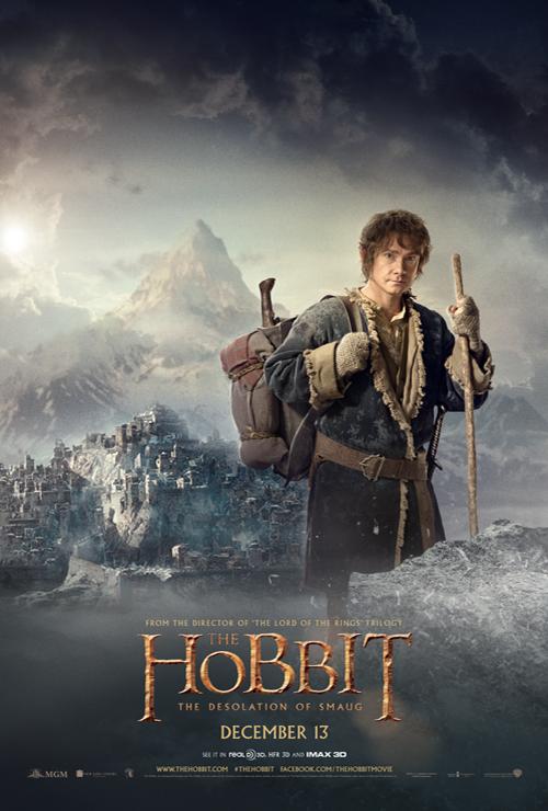 The Hobbit: The Desolation of Smaug - Bilbo Baggins Poster ...