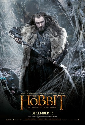 The Hobbit: The Desolation of Smaug - Thorin Oakenshield Poster
