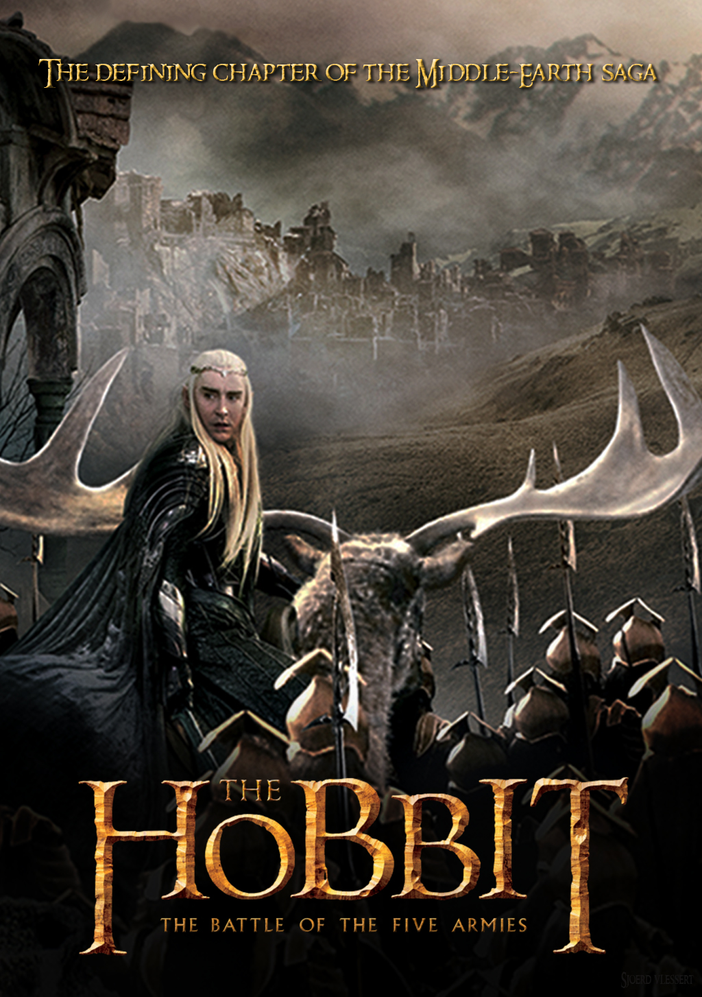 The Hobbit the battle of five armies™ poster - The Hobbit ...
