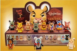 The Lion King Vinylmation full set