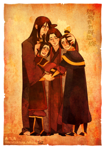 Avatar The Last Airbender kertas dinding with Anime called The Royal Family