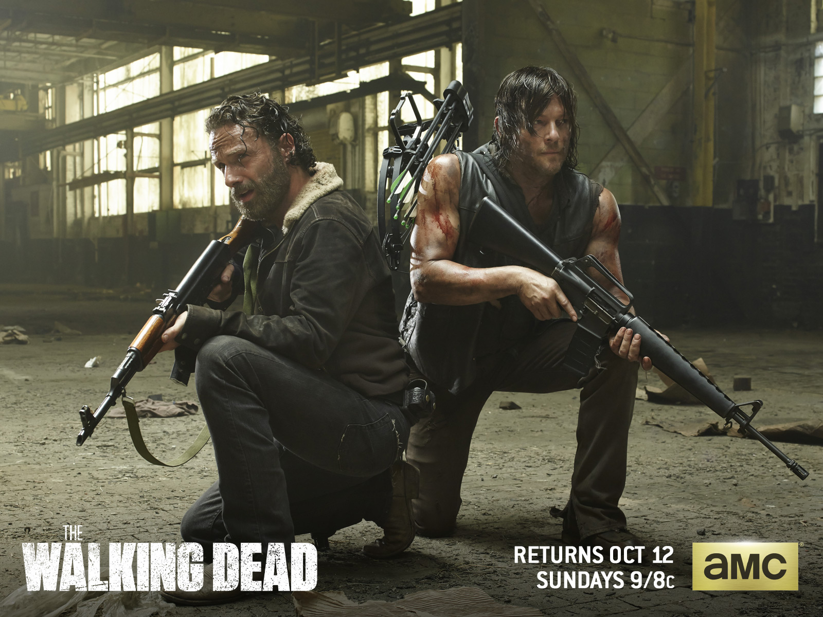 The Walking Dead images Rick Grimes & Daryl Dixon HD wallpaper and background photos