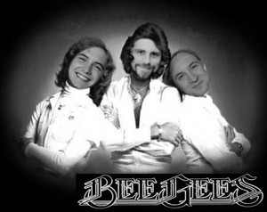 The boys as the Bee Gees