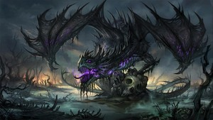 The dragon of hell! :)