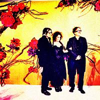 Tim Burton, Johnny Depp and Helena Bonham Carter