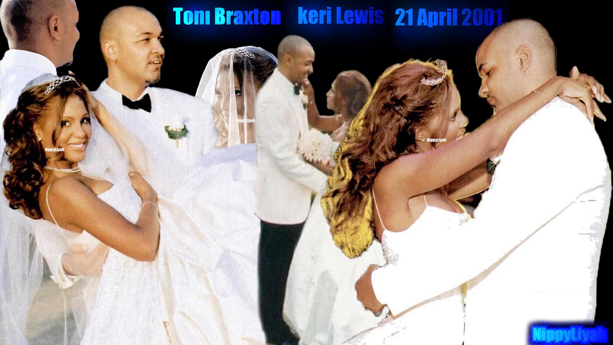 pics for gt toni braxton wedding