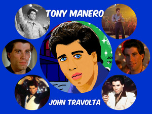 Tony Manero collage