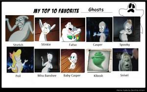 hàng đầu, đầu trang 10 yêu thích Ghost