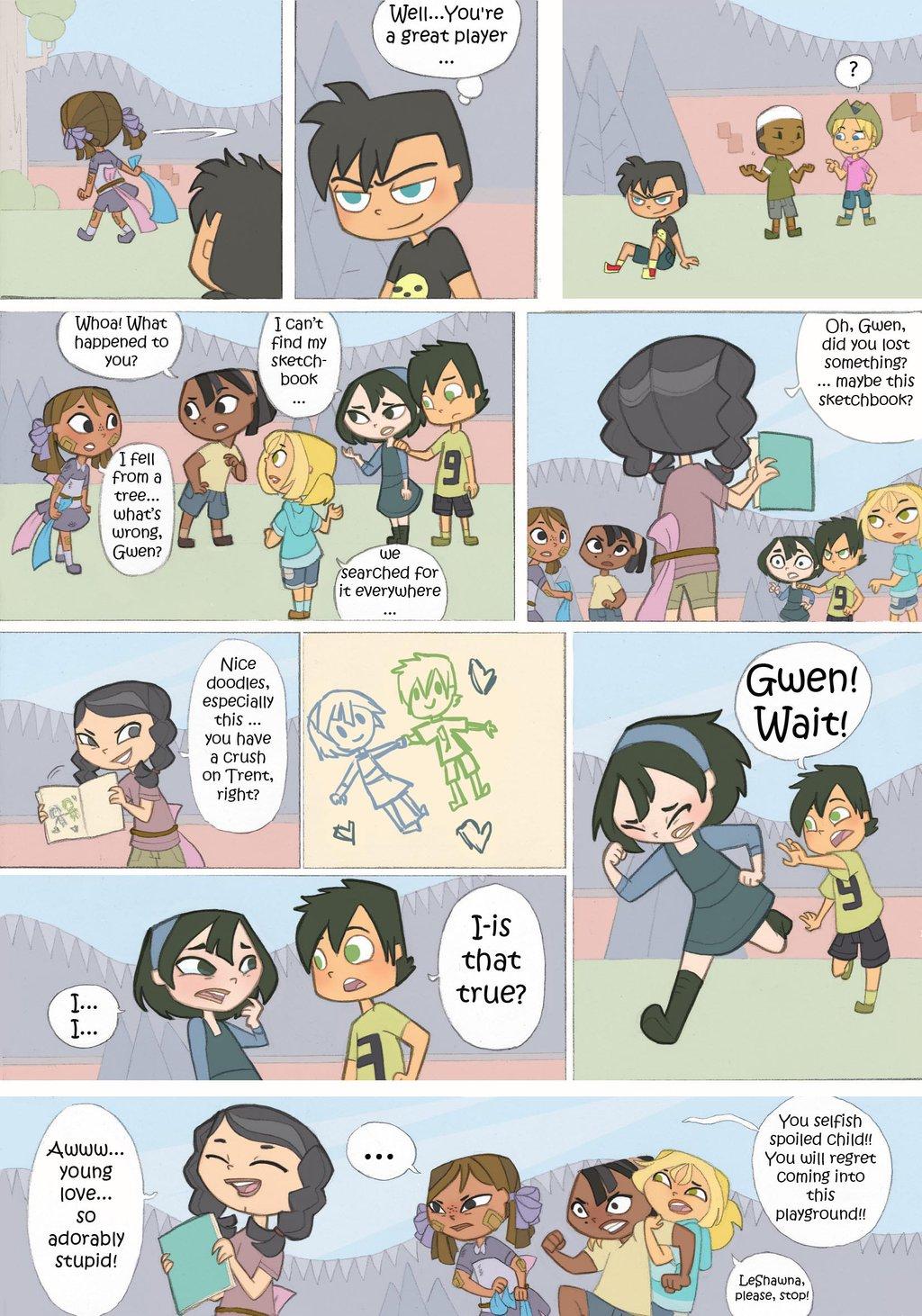Total Drama Kids Comic: Part 10