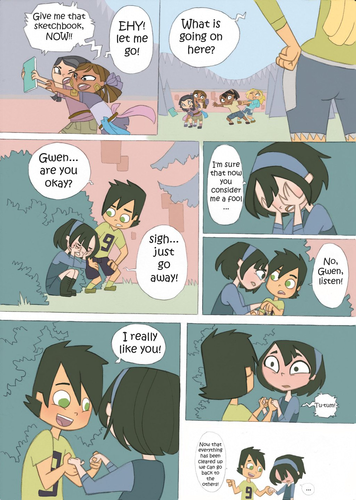 Total Drama Island kertas dinding possibly containing Anime called Total Drama Kids Comic: Part 11