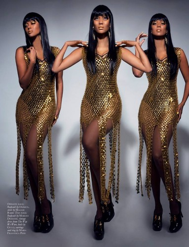tyra banks wallpaper titled Tyra / BLACK MAGAZINE