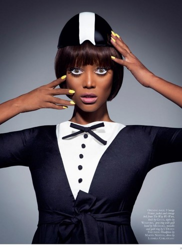 tyra banks wallpaper entitled Tyra / BLACK MAGAZINE