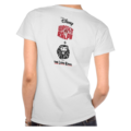 Vanellope dressed as Pumbaa Womens T-Shirt 1 (Back)