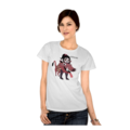 Vanellope dressed as Pumbaa Womens T-Shirt 2 (Front)