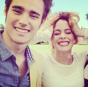 Violetta and Leon at the Violetta 3