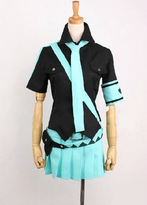 Vocaloid 愛 is War Hatsune Miku Cosplay Costume