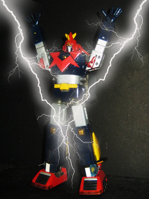 Voltes V super charged