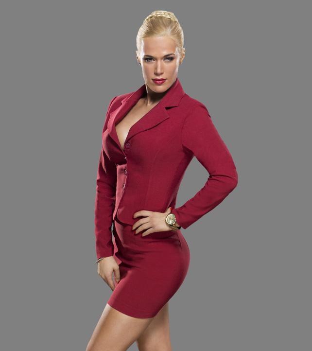 Fotos de La Rusa Lana desnuda diva de la WWE #2