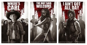 Walking dead prints